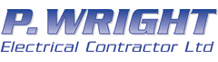 Logo: P Wright Electrical